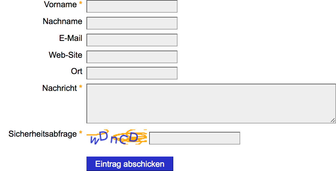 Way too Simple CAPTCHA